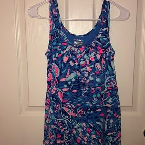 A multicolored Lilly tank top w/ tags!!